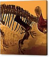 Hostile Fossil Canvas Print