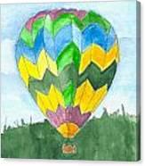 Hot Air Balloon 01 Canvas Print