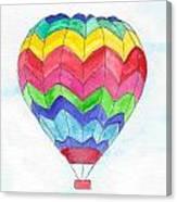 Hot Air Balloon 02 Canvas Print