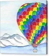 Hot Air Balloon 04 Canvas Print