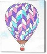 Hot Air Balloon 06 Canvas Print