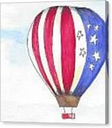 Hot Air Balloon 07 Canvas Print
