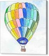 Hot Air Balloon 08 Canvas Print