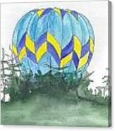 Hot Air Balloon 09 Canvas Print
