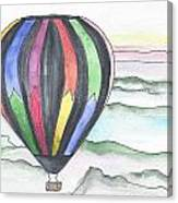 Hot Air Balloon 12 Canvas Print