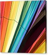 Hot Air Balloon Rainbow Canvas Print