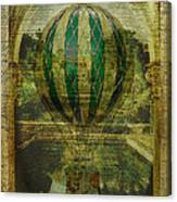 Hot Air Balloon Voyage Canvas Print