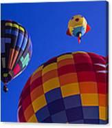 Hot Air Balloons Launch Canvas Print