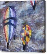 Hot Air Balloons Photo Art 02 Canvas Print