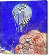 Hot Air Balloons Photo Art 04 Canvas Print