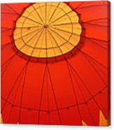 Hot Air Balloon At Dawn Canvas Print