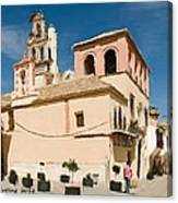 Hot And Sunny Afternoon In Ecija Canvas Print