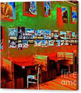 Hot Bar-glow Canvas Print