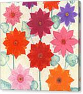 Hot Bloom Canvas Print