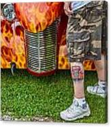 Hot Car Canvas Print