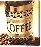 Hot Coffee Canvas Print