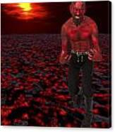Hot Devil Canvas Print