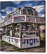 Hot Dogs Canvas Print