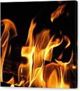 Hot Fire Canvas Print