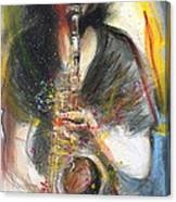 Hot Jazz Man Canvas Print