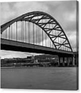 Hot Metal Bridge Canvas Print