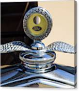 Hot Rod Car Instrument Detail Canvas Print
