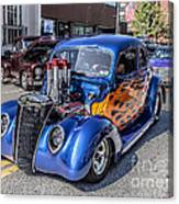 Hot Rod Car Canvas Print