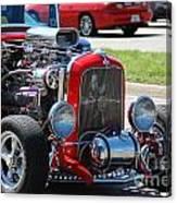 Hot Rod Engine Canvas Print