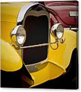 Hot Rod Fords Canvas Print