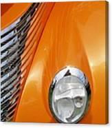 Hot Rod Headlight Canvas Print