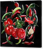 Hot Salsa Canvas Print