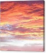 Hot Sky Canvas Print