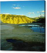 Hot Springs Yellowstone Canvas Print