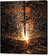 Hot Steel Canvas Print