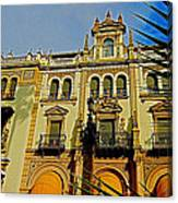 Hotel Alfonso Xiii - Seville Canvas Print