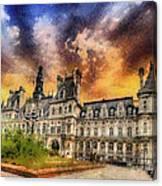 Sunset At The Hotel De Ville Canvas Print