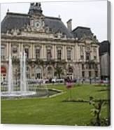 Hotel De Ville - Tours Canvas Print