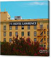 Hotel Lawrence Canvas Print