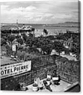 Hotel Pierre Dun Laoghaire 1958 Canvas Print