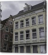 Hotel Prins Hendrick Amsterdam Canvas Print