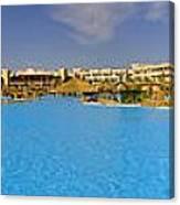 Hotel Resort Panorama Canvas Print