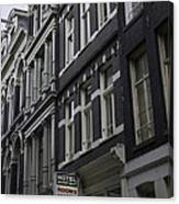 Hotel Rooms Clean And Simple Amsterdam Canvas Print