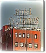 Hotel St. James Canvas Print