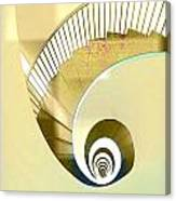 Hotel Staircase Lisbon Canvas Print