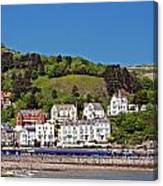 Hotels And Guesthouseson Great Orme Llandudno Wales Uk Canvas Print
