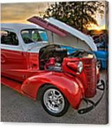 Hotrod Sunset Canvas Print