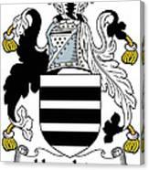 Houghton Coat Of Arms Irish Canvas Print