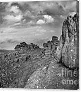 Hound Tor Dartmoor Canvas Print