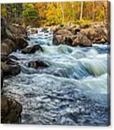 Housatonic River Autumn Canvas Print