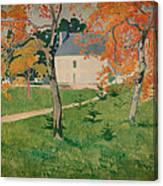House Among Trees Canvas Print